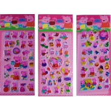 Sticker with Colouring Sheet-Peppa Pig