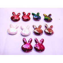 Sequin Hair Clip - Rabbit