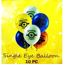 Minion Eye Balloon- Set of 10
