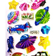 Glossy Sticker-Space