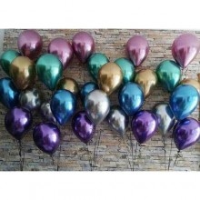 Glossy Chrome Balloon (Set of 30)