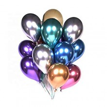 Glossy Chrome Balloon (Set of 25)