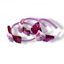 Sequin Hair Band - Hello Kitty