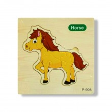 Horse Wooden Jigsaw Puzzle