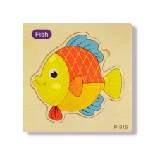 Fish Wooden Jigsaw Puzzle