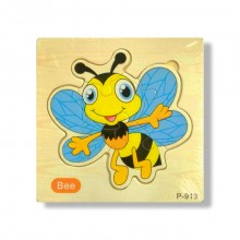 Honeybee Wooden Jigsaw Puzzle