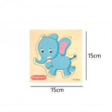 Elephant Wooden Jigsaw Puzzle