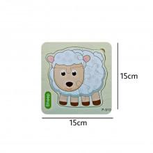 Sheep Wooden Jigsaw Puzzle