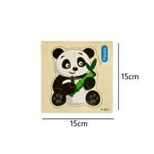 Panda Wooden Jigsaw Puzzle