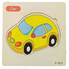 Wooden Jigsaw Puzzle-Car