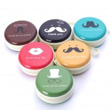 Mustache Tin Case Pouch