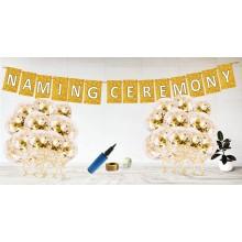 Naming Ceremony Golden Decoration Set