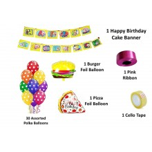 Food Party Supply Combo (35 Pieces)