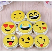 Emoji Metal Tin Case Pouch