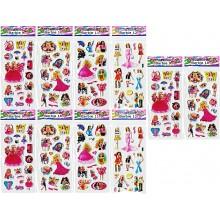 3D Stickers-Barbie