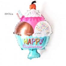 Ice Cream Foil Balloon