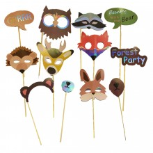 Birthday Party Props (Jungle Animal)