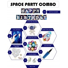 Space Grand Party Combo Supply (48 pieces)