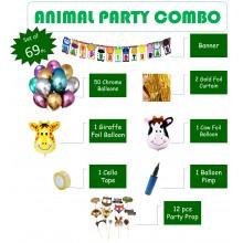 Jungle Animal Theme Grand Party Combo
