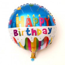 Birthday Foil Balloon - Rainbow