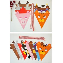 Animal Birthday Bunting/Flag/Garland