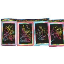 Magic Rainbow Scratch Art