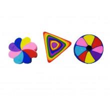 Rainbow Erasers - Assorted