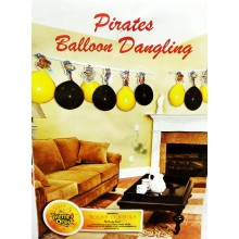 Pirates Banner with balloon