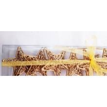 Golden Stars - Set of 6