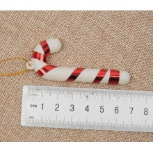 Christmas Tree Candy Cane Ornament - Set of 6