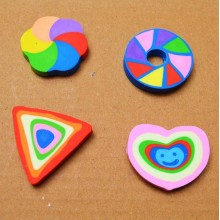 Rainbow Erasers - Assorted