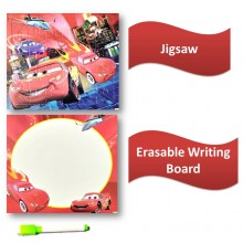 Puzzle + Painting + Writing Board - Car
