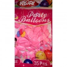 Pink Large Balloon - 35 Pieces