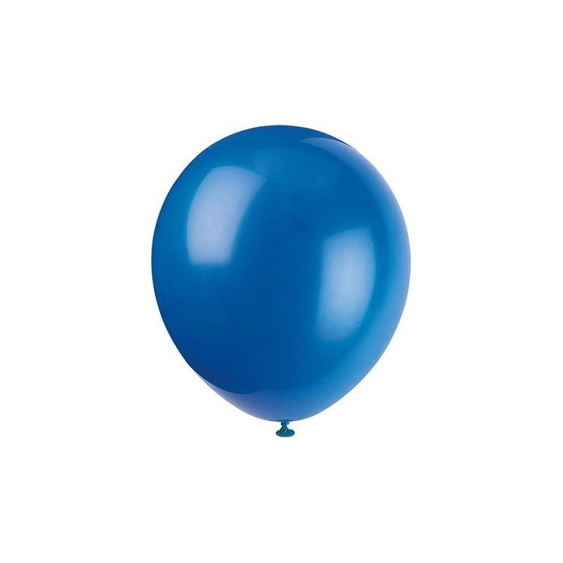 Blue Large Balloon - 35 Pieces