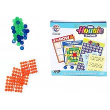 Board Game: Little Housie 3 IN 1