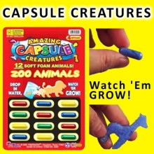Grow in water capsule - Zoo Animals