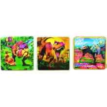 Jigsaw Puzzle Set of 3 - Dinosaurs