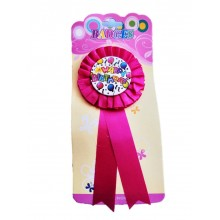 Birthday Badge- Pink
