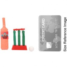 Cricket Set Eraser