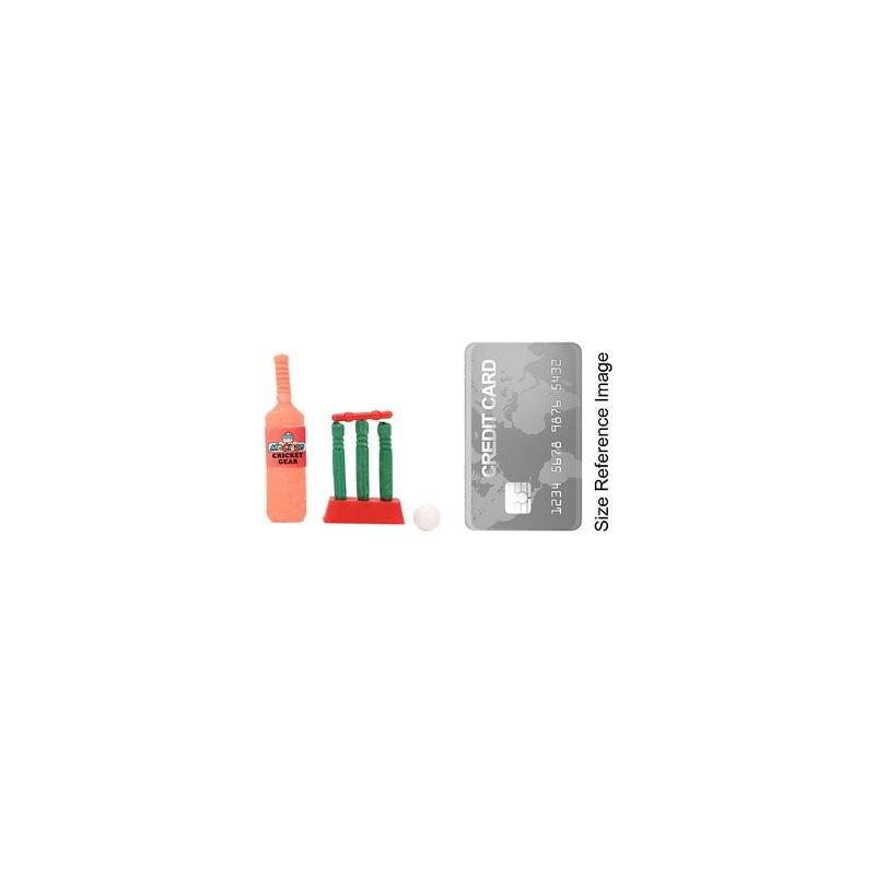 Cricket Set Eraser