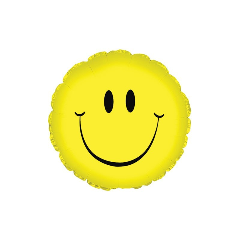 Smiley Foil Balloon
