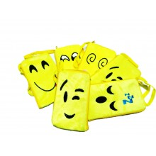 Smiley Soft Mobile Pouch