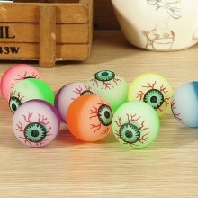 Eyeball bouncing ball