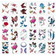 Tattoo Sheet for Girls