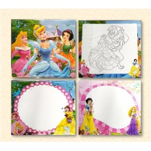 Gift Wrapped - 3 in 1 Writing, Puzzle & Colouring Board - Princess