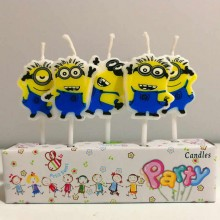 Minion Candle Set of 5