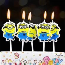 Minion Candle Set of 5