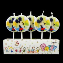 Mickey Candle Set of 5