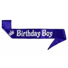 Birthday Boy Sash