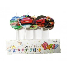 Cars Candle Set of 5